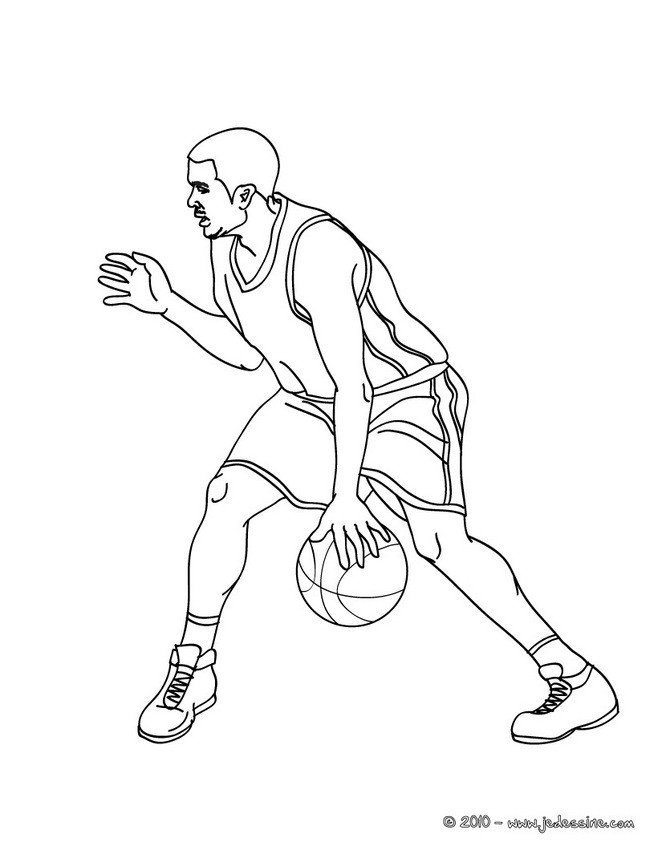 michael jordan coloring pages free - photo #27
