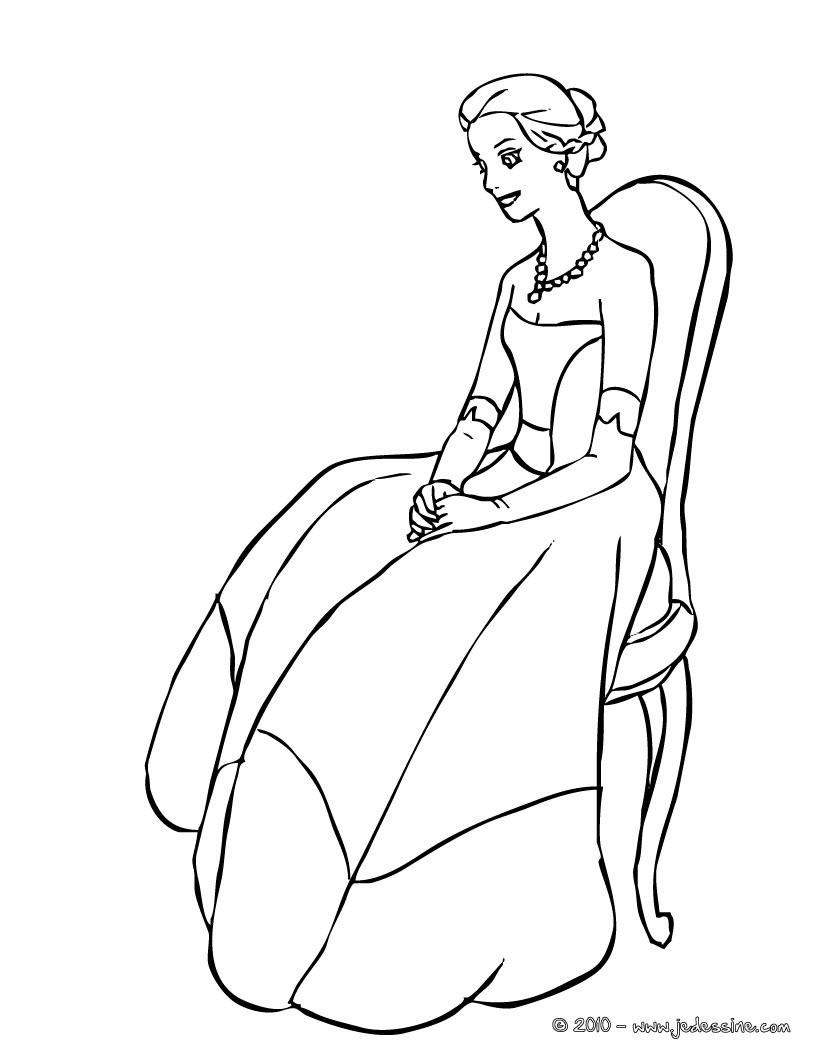 Coloriages coloriage en ligne princesse - Coloriage en ligne princesse ...