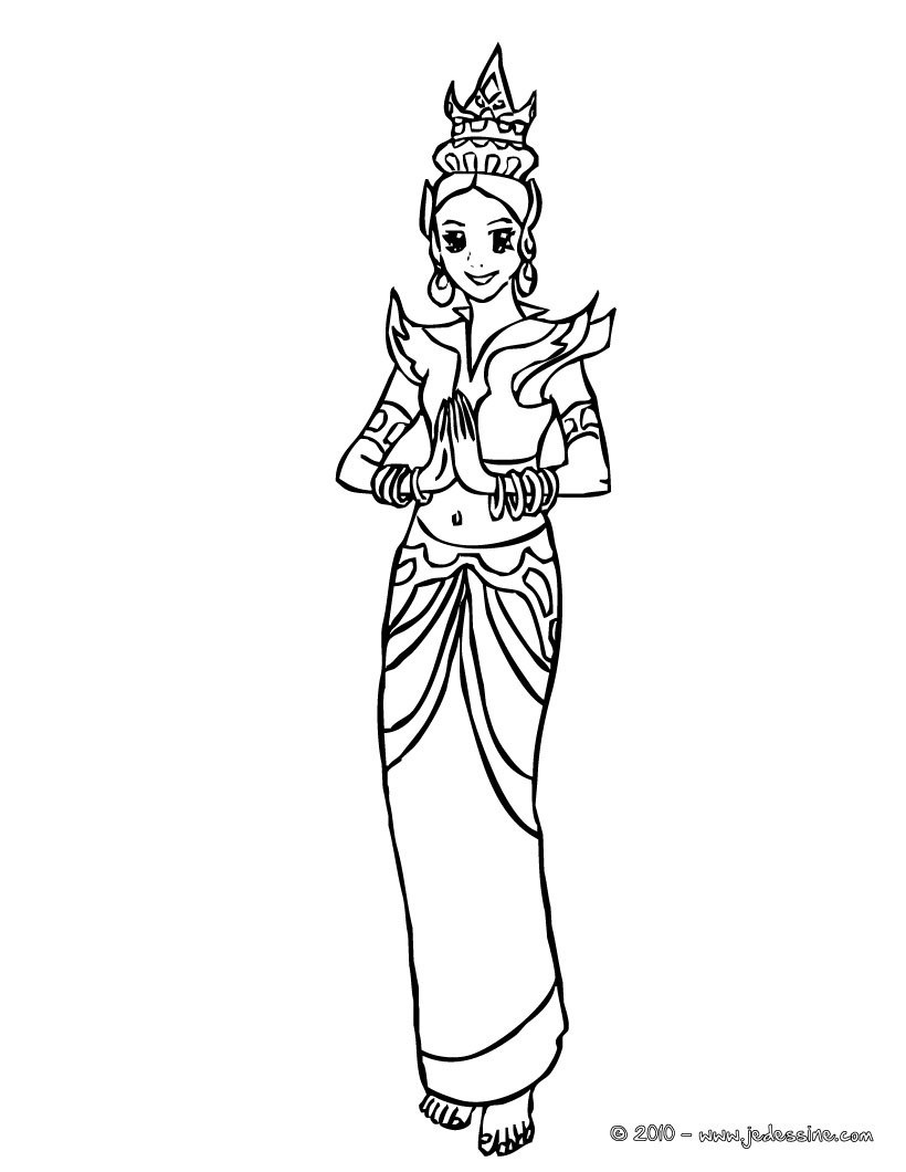 thailand coloring pages - photo#5