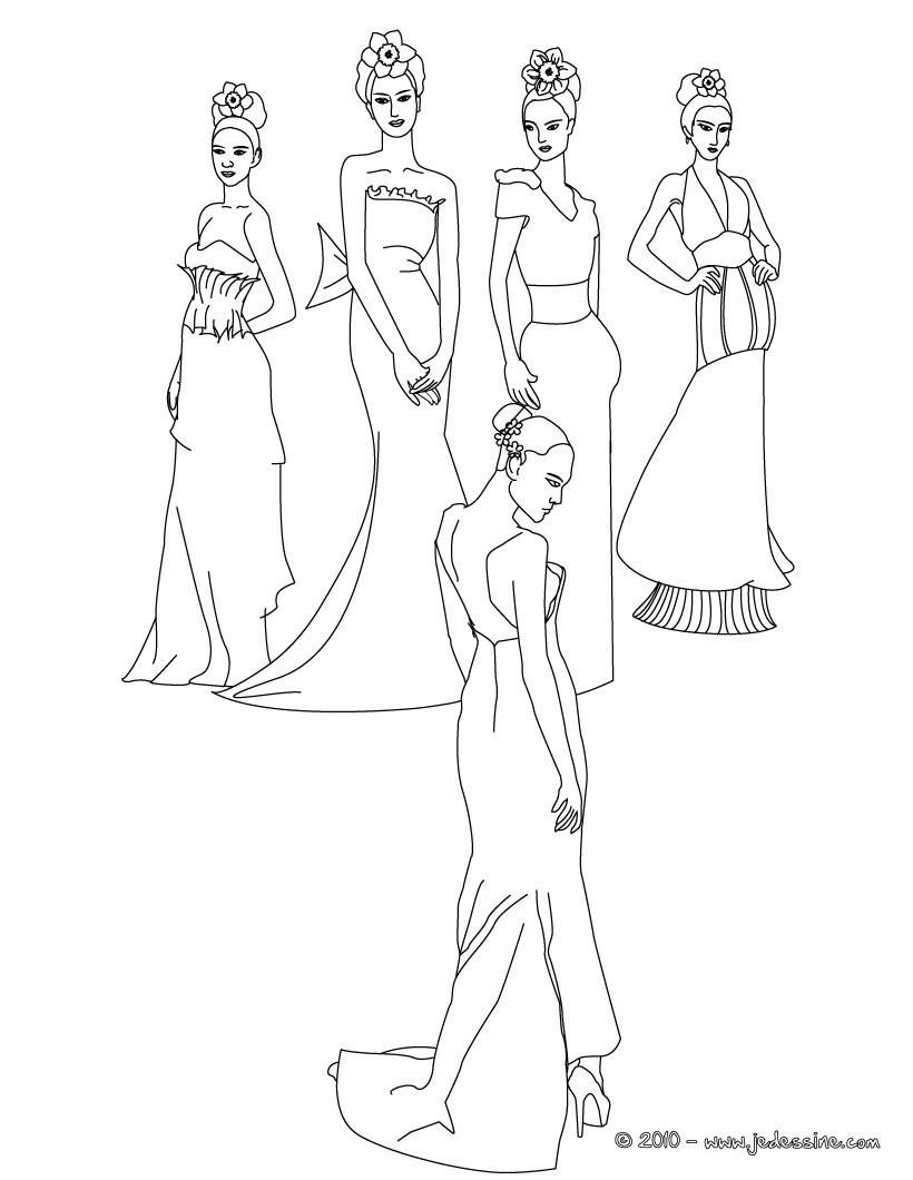 Coloriages princesses colorier en ligne - Coloriage de princesse en ligne ...