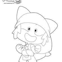 Yugo est heureux - Coloriage - Coloriage DESSINS ANIMES - Coloriage WAKFU