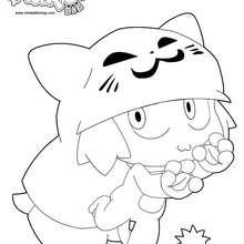 Yugo se déguise en Chacha - Coloriage - Coloriage DESSINS ANIMES - Coloriage WAKFU