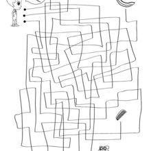 Le serpent de Téo - Jeux - Jeux de Labyrinthes - Les labyrinthes EXCLUSIFS de Jedessine