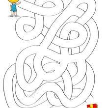 Le cadeau de Téo - Jeux - Jeux de Labyrinthes - Les labyrinthes EXCLUSIFS de Jedessine