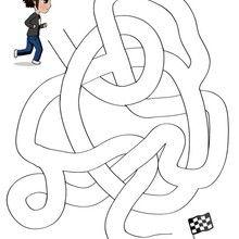 La course de Mat - Jeux - Jeux de Labyrinthes - Les labyrinthes EXCLUSIFS de Jedessine