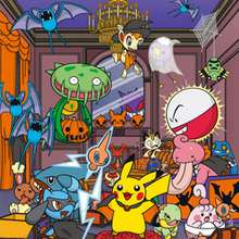 Puzzle Pikachu et pokemon