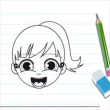 Dessiner Audrey - Dessin - Apprendre  dessiner - Cours anims de dessin