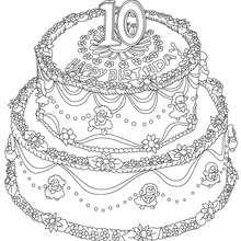Coloriage 10 ans