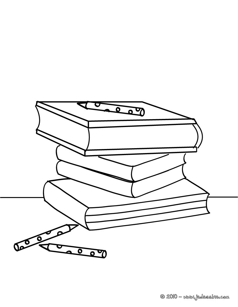 Coloriage Ecole Fournitures Scolaires.Coloriage Materiel Scolaire Coloriages Coloriage A Imprimer