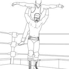 Sheamus - Coloriage - Coloriages de CATCH