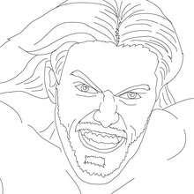 EDGE, portrait - Coloriage - Coloriages de CATCH