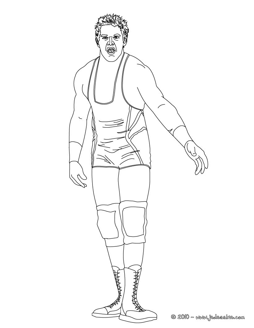 Coloriage : JACK SWAGGER