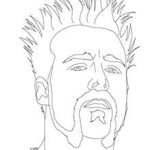 Coloriage : SHEAMUS, portrait
