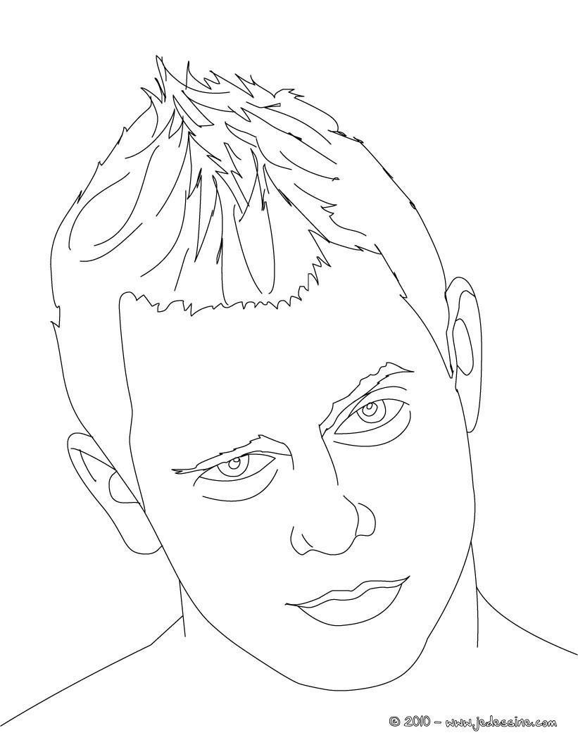 Coloriages the miz portrait - Coloriage wwe ...