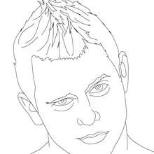 Coloriage : THE MIZ, portrait