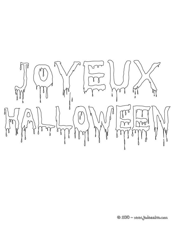 Dessin Joyeux Halloween.Coloriages Joyeux Halloween A Colorier Fr Hellokids Com