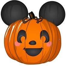 Masque de Mickey version Halloween