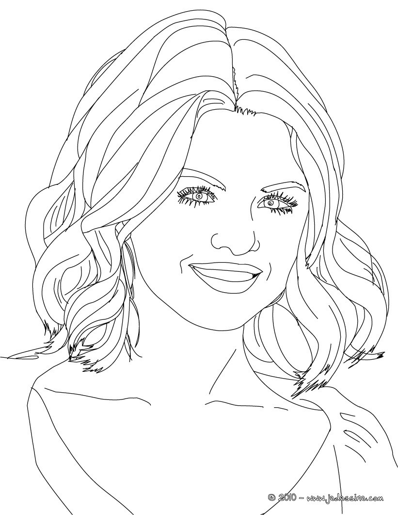 Coloriages selena gomez photo colorier - Coloriage selena gomez ...