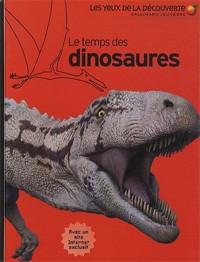 Livre : Le temps des dinosaures