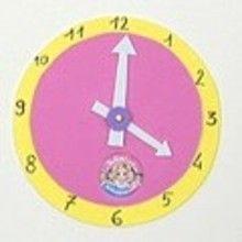 L'horloge Apprendre l'heure - Activités - ATELIER BRICOLAGE EN VIDEO - VIDEO BRICOLAGE ENFANTS