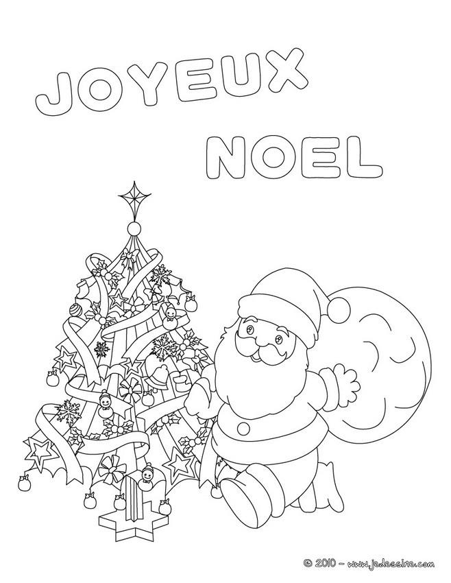 Coloriages joyeux noel colorier - Dessin joyeux noel ...