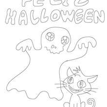 coloriage monstres halloween - Coloriage - Coloriage FETES - Coloriage HALLOWEEN - Coloriage MONSTRE HALLOWEEN