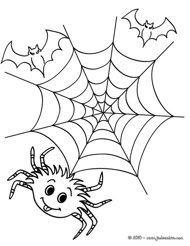 Coloriage Araignee Halloween 14 Coloriages D Halloween Gratuits à