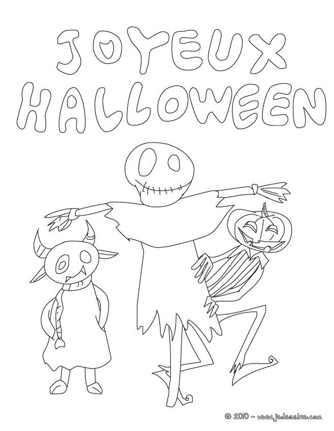 Bien connu Coloriages joyeux halloween à imprimer - fr.hellokids.com XE17