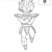 Coloriage Famille Vegeta.Dragon Ball Coloriages Jeux En Ligne Gratuits Videos Et