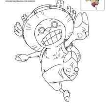Coloriage CHOPPER - Coloriage - Coloriage ONE PIECE