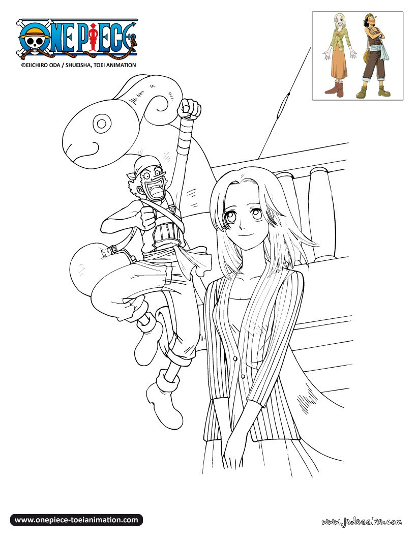 One piece sanji coloriages - Coloriage one peace ...