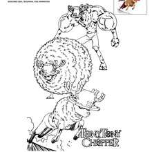 Coloriage CHOPPER gratuit
