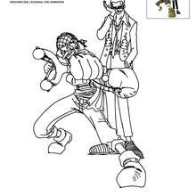 Coloriage one piece coloriages coloriage imprimer gratuit - Coloriage gratuit manga one piece ...