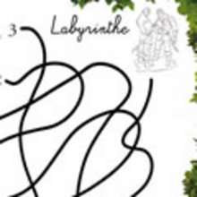 Labyrinthe RAIPONCE - Coloriage - Coloriage DISNEY - Coloriage RAIPONCE