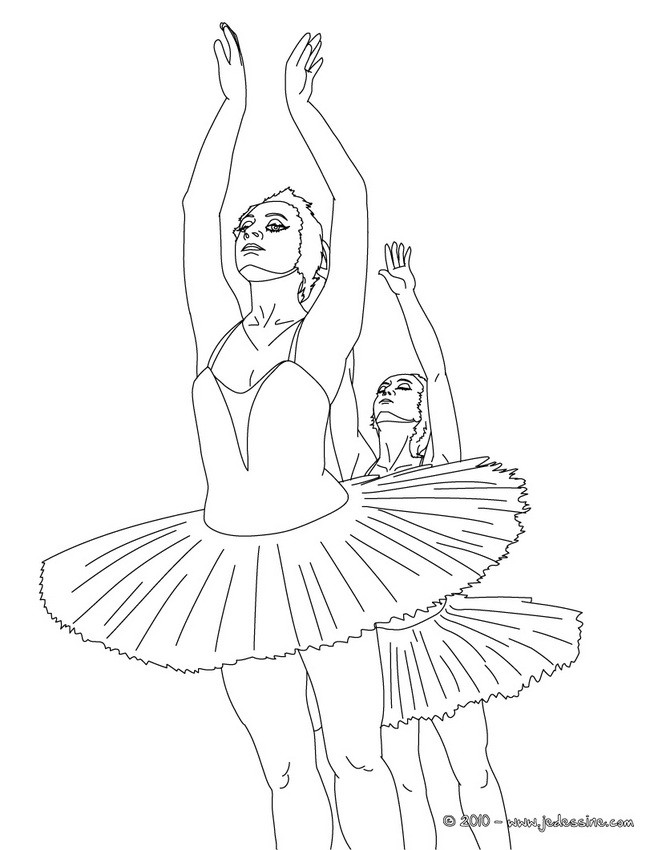 Coloriage Danseuses A Imprimer.Coloriage Danse Coloriages Coloriage A Imprimer Gratuit Fr