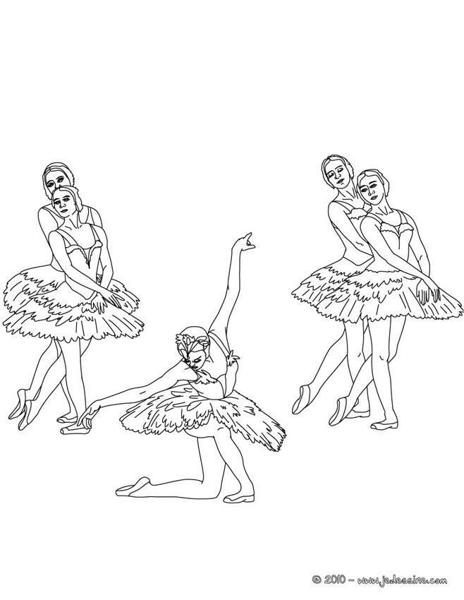 Coloriages coloriage final danse - Coloriage de danse ...