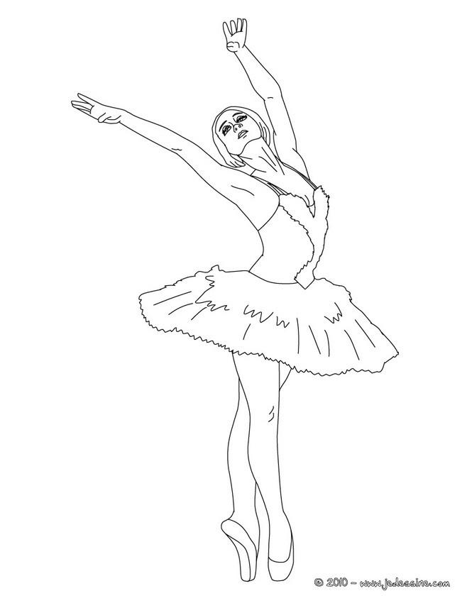 Coloriage Danseuse De Ballet.Coloriage Danse Coloriages Coloriage A Imprimer Gratuit Fr