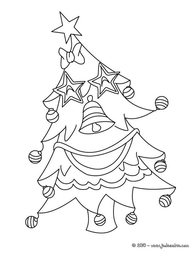 Coloriage Etoile De Pouvoir.Coloriage De Sapins De Noel 25 Coloriages De Noel