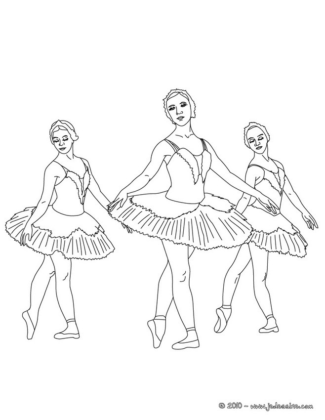 ballet coloring pages on hellokids - photo#2