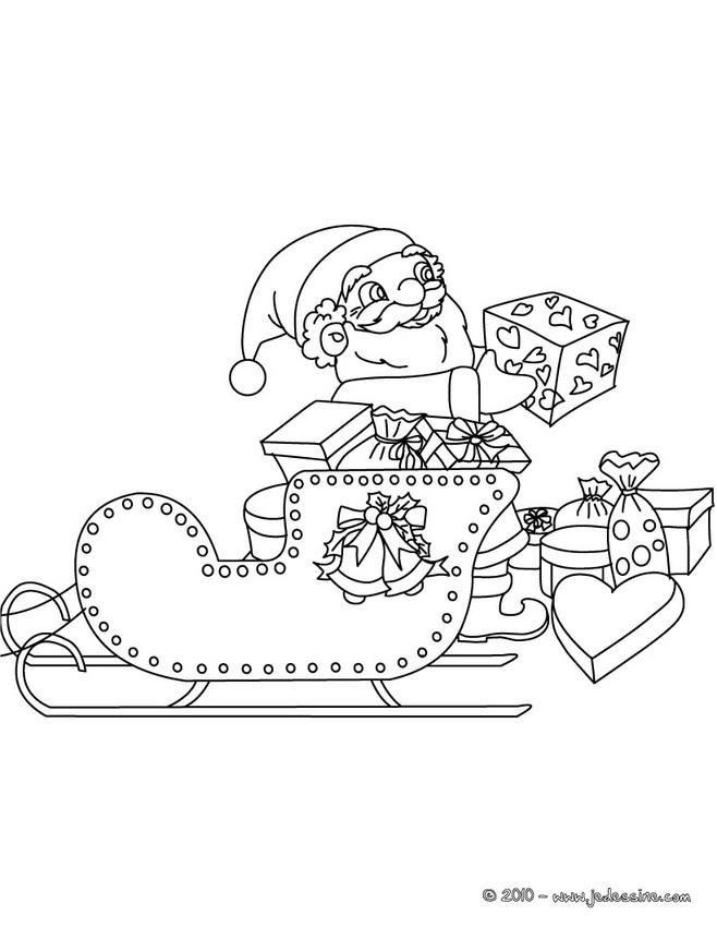 Coloriages Du Pere Noel 70 Coloriages De Noel