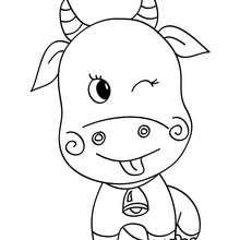 Petite vache kawaï