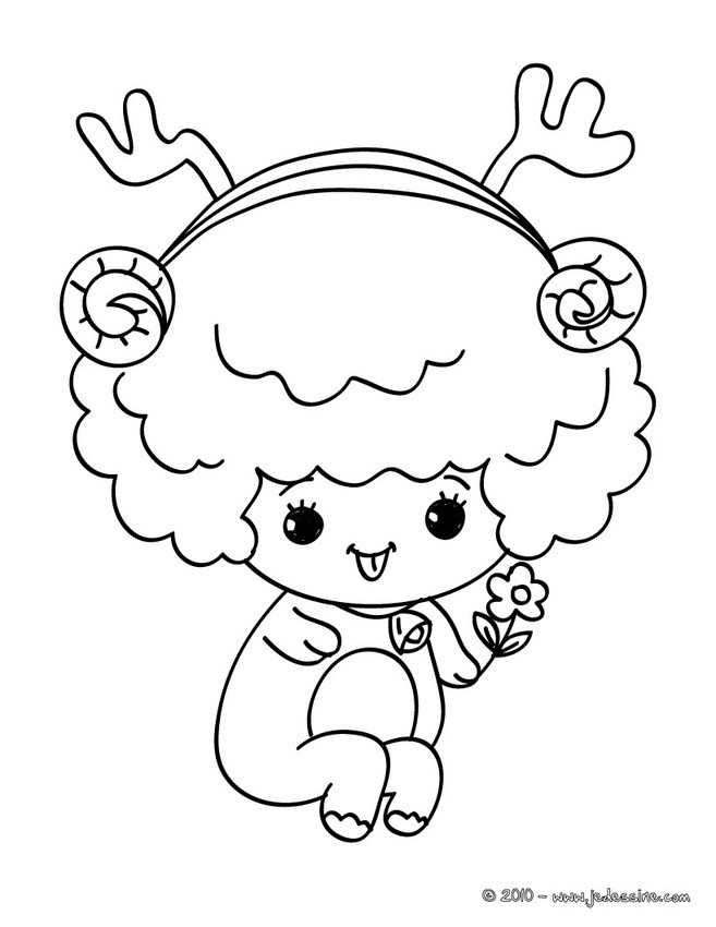 Coloriage Chat Noel.Coloriages Chat Habille Pour Noel Fr Hellokids Com