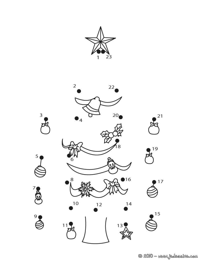 Alphabet Connect The Dots Christmas Pictures