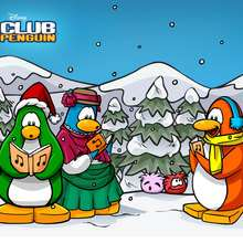 Noël - Dessin - Fonds d'écran CLUB PENGUIN