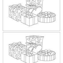Cadeaux Noël 5 différences