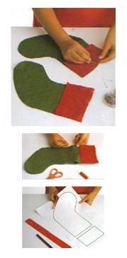 Chaussette du Père-Noël