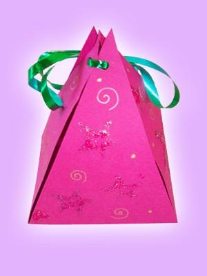 Fiche bricolage : Petite pochette à bonbons de fée