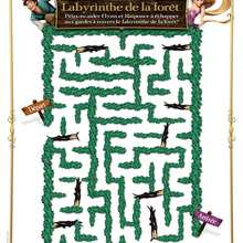Labyrinthe - Coloriage - Coloriage DISNEY - Coloriage RAIPONCE