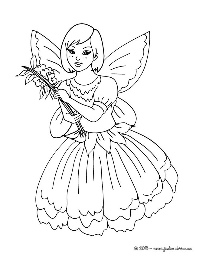 Coloriage Carnaval Deguisements.Coloriages Coloriage Costume Carnaval Fee Fr Hellokids Com