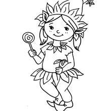 Coloriage costume carnaval lutin - Coloriage - Coloriage FETES - Coloriage CARNAVAL - Coloriage CARNAVAL COSTUMES